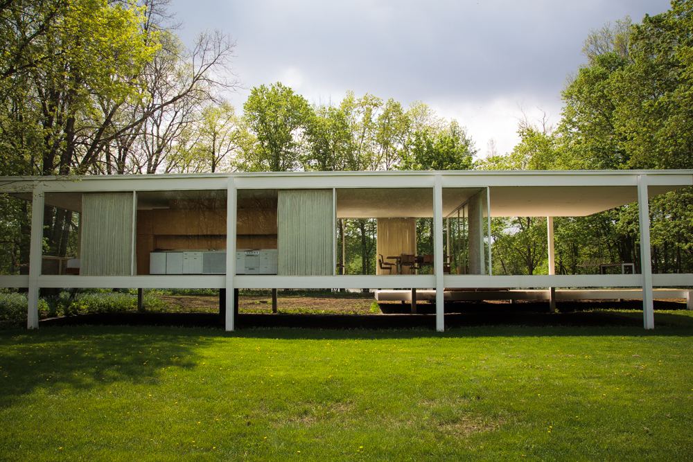 Farnsworth House par Sami Lini