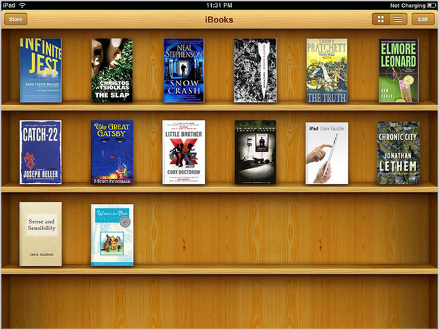 Application Kiosque sur iPad (avant iOS 7)