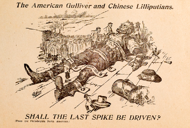 "Some Reasons for Chinese Exclusion"" (Washington D.C.: American Federation of Labor, 1902). Fales Library and Special Collections, NYU Public domain"