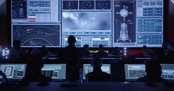 Interfaces de Seul sur Mars : salle de contrôle