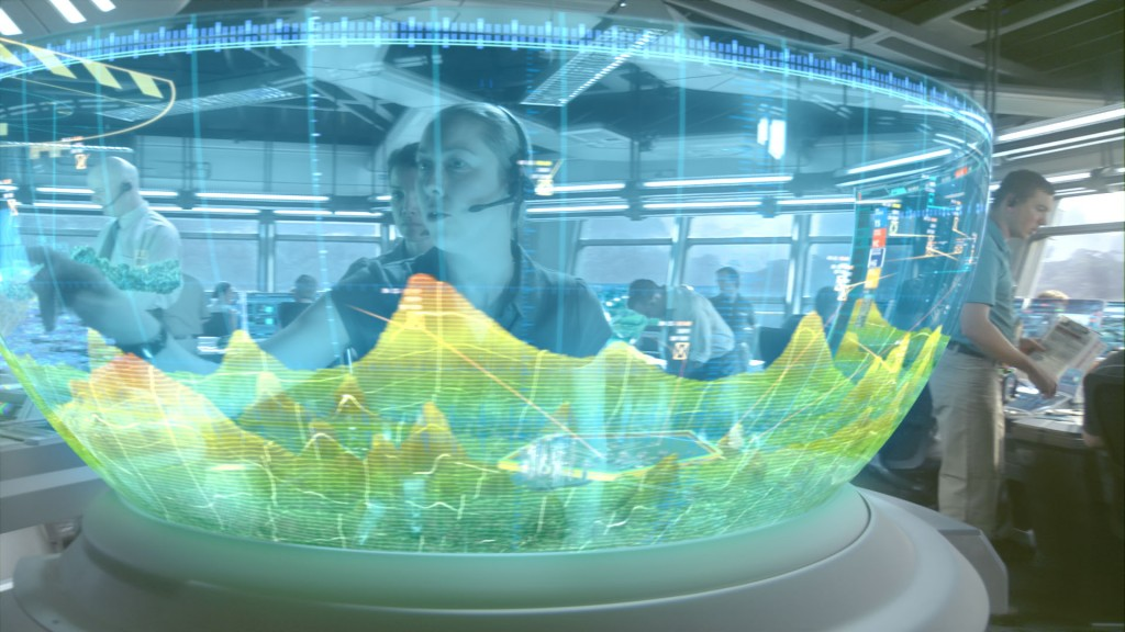 Interface Homme Machine (IHM) d'Avatar : contrôle