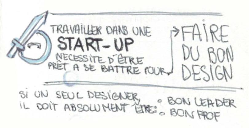 Si une startup n'a qu'un seul designer, il doit être un bon leader et un bon prof - M. Monteiro