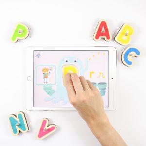 smart letters jeu sur tablette tactile pour enfants