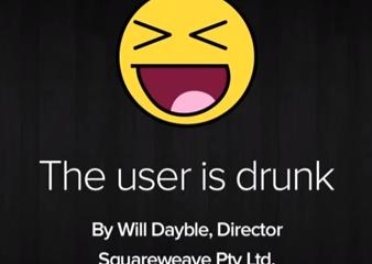 """""""The user is drunk"""" : une métaphore pour la conception d'IHM centrée sur l'utilisateur"""
