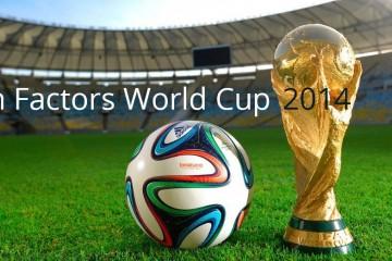 Coupe du monde 2014 : Facteurs Humains et football !