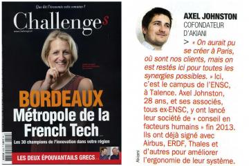 Akiani dans le top des start-ups innovantes en région Aquitaine