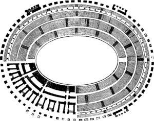 Image du plan du Colosseum